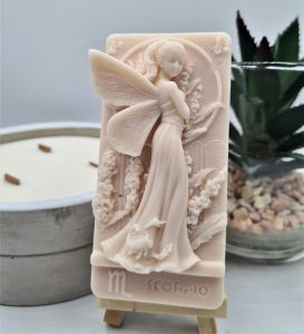 An image of Get the scents scorpio soap bar