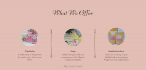 Get the scent Fragrance banner image three