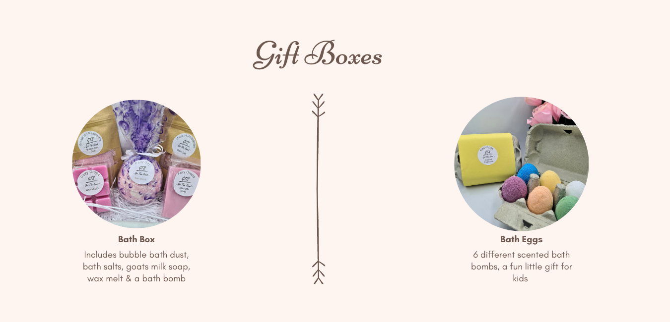 Get the scent bath products banner image